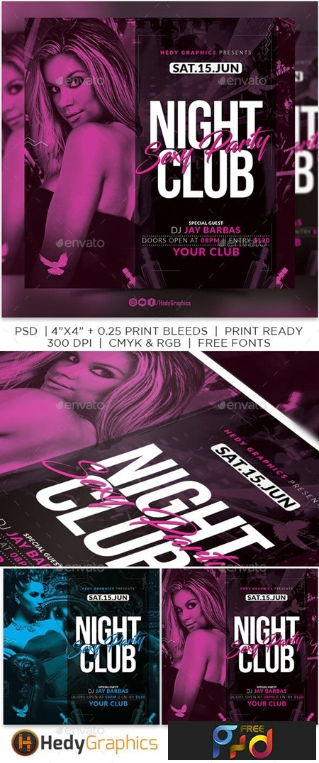Night Club Flyer 23255169 1