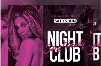 Night Club Flyer 23255169 4