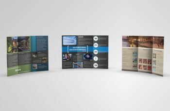 Trifold Brochures Bundle 01 3291678 3