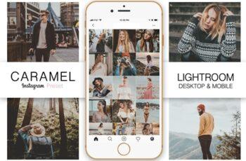 Caramel Instagram Blogger Preset 3429771 8