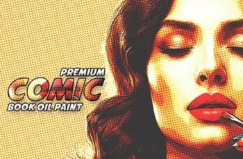Premium Comic Book Oil Paint 23505217 3