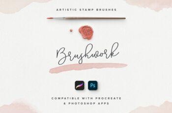 Brushwork for ProCreate & Photoshop 3375048 6