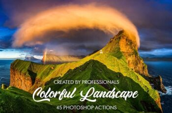 Colorful Landscape Photoshop Actions 3601683 6