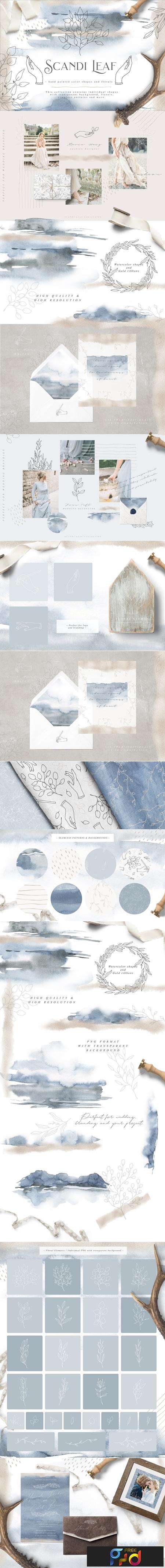 Scandi Leaf Collection 2615575 1