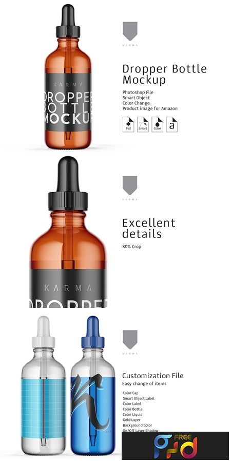 Dropper Bottle Mockup 4 3128422 1