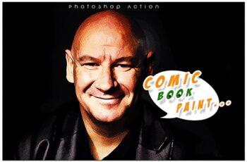 Comic Book Paint Photoshop Action 3547640 6