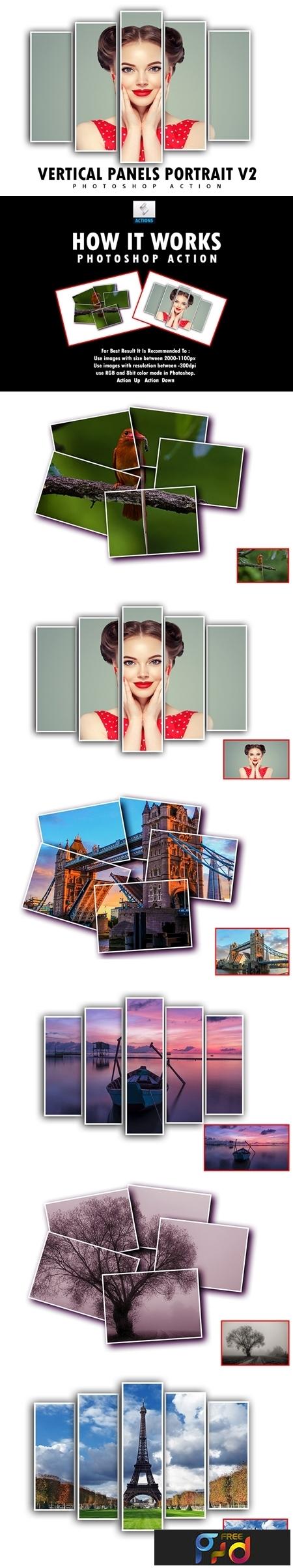 Vertical Panels Portrait V2 Photoshop Action 3547663 1