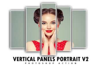 Vertical Panels Portrait V2 Photoshop Action 3547663 1