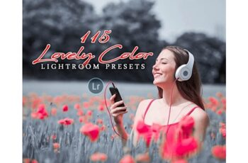 115 Lovely Color Lightroom Presets 3218801 7