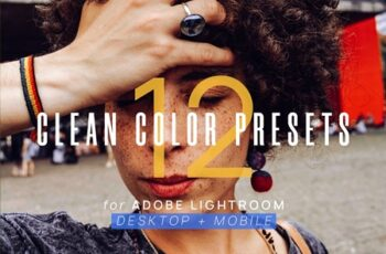 12 Clean Color Presets for Lightroom 3615326 3