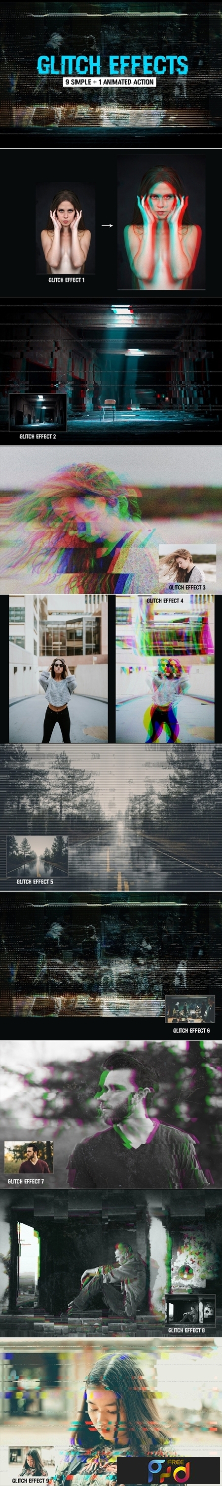 Glitch Effects Mega Pack 3649276 1
