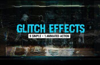 Glitch Effects Mega Pack 3649276 13
