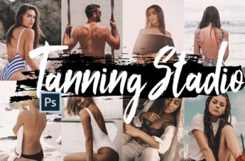 Neo Tanning Studio Theme Color Grading photoshop actions 241311 10