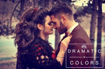 Dramatic Colors Photoshop Action 3548483 6