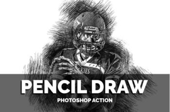 Pencil Draw Photoshop Action 3548625 5