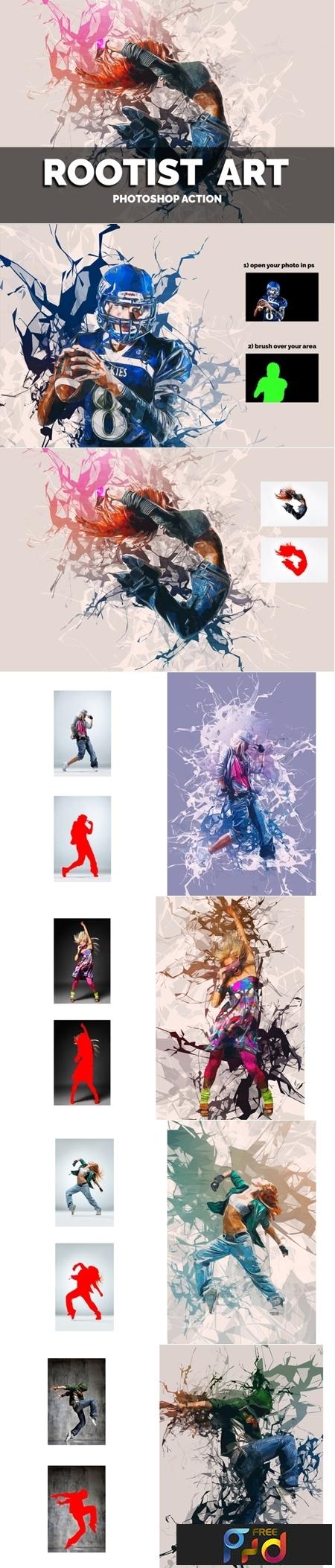 Rootist Art Photoshop Action 3548627 1