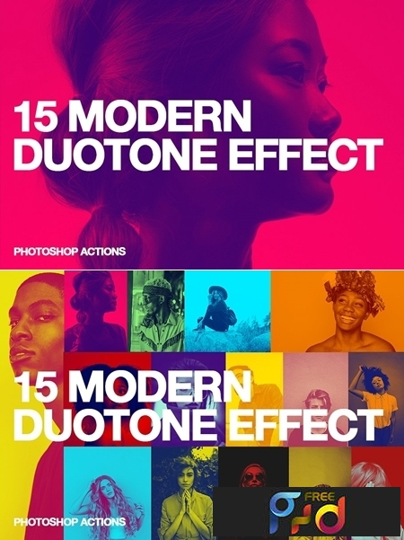 15 Modern Duotone Effect - Action 3486382 1