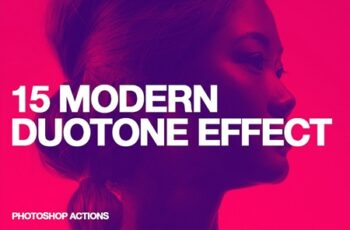 15 Modern Duotone Effect - Action 3486382 10