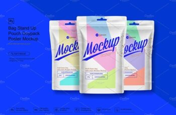 Stand Up Pouch Doypack Poster Mockup 3623118 2