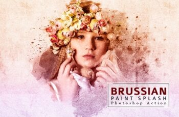 Brussian Paint Splash Photoshop Action 3550057 8