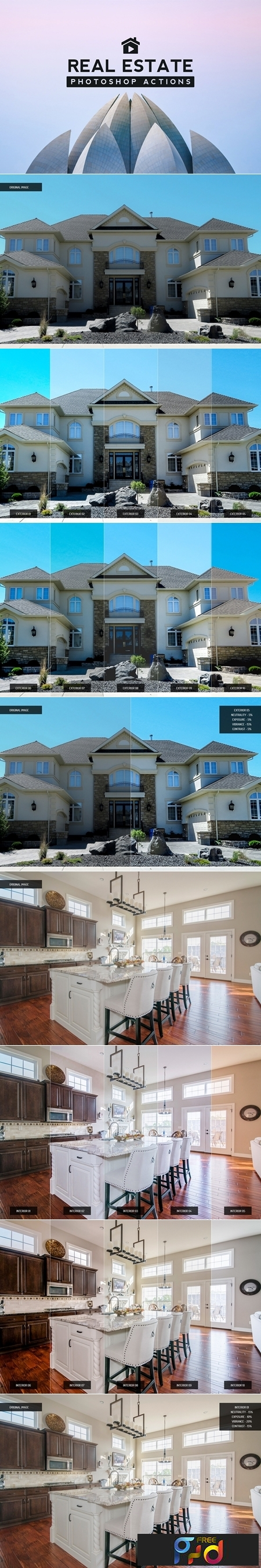 Real Estate Photoshop Actions 3477163 1