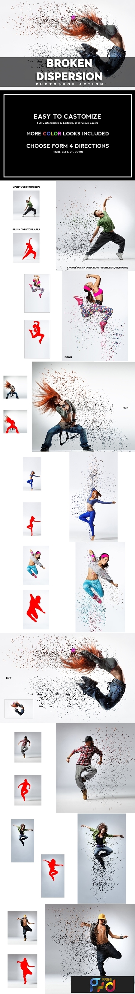 Broken Dispersion Photoshop Action 3600977 1