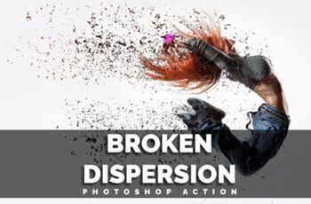 Broken Dispersion Photoshop Action 3600977 3