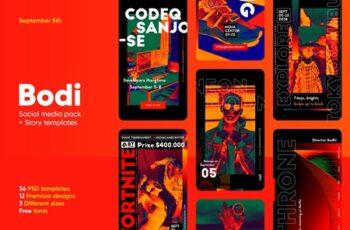 Bodi - Social Media Pack + Stories 3713738 2