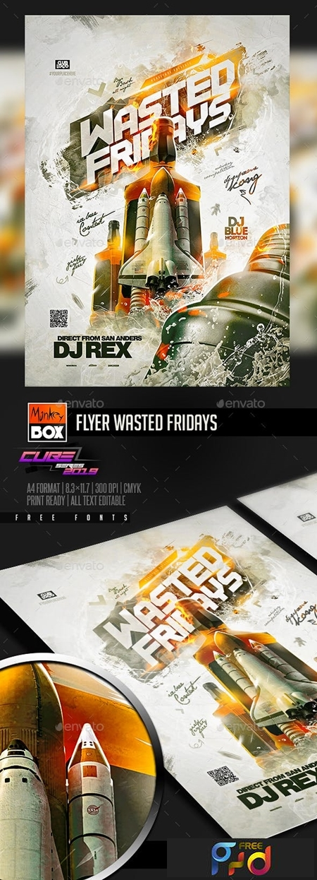 Flyer Wasted Fridays 23555299 1