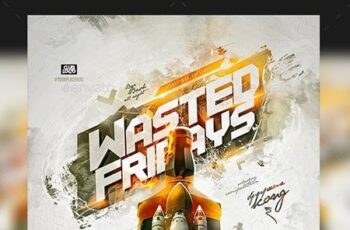Flyer Wasted Fridays 23555299 2