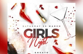 Girls Night Out Flyer 23496657 2
