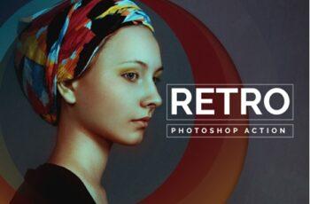 Retro Photoshop Action 3549363 3