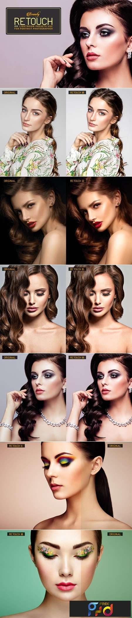 20 Beauty Retouch Lightroom Presets 3548754 1
