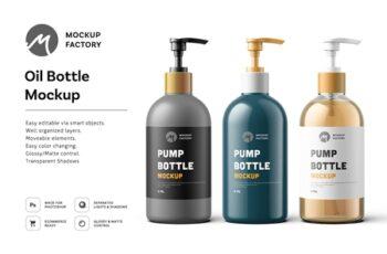 Pump Bottle Mockup 3709949 4