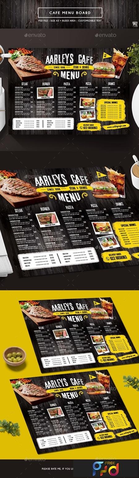 Cafe Menu Board 19518249 1