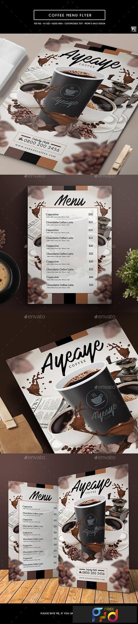 Coffee Menu Flyer 17964158 1