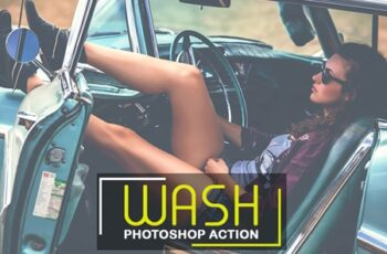 Wash Photoshop Action 3550063 6