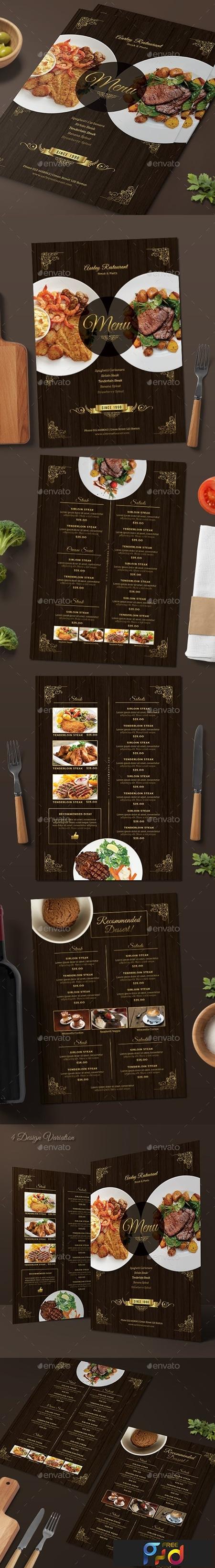 Elegant Restaurant Menu 18590107 1