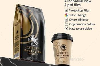 Coffee Packaging Mockup 23070736 4