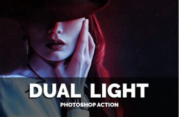 Dual Light Photoshop Action 3549918 5