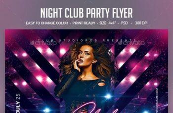 Night Club Party Flyer 23653921 3