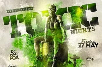 Toxic Nights Party Flyer 23712143