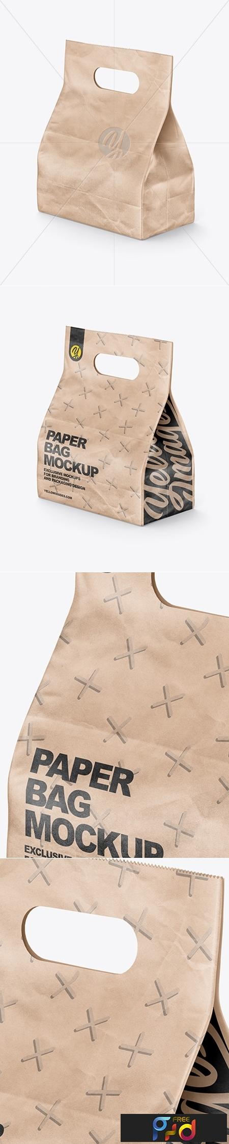 Food Kraft Bag Mockup 42572 1