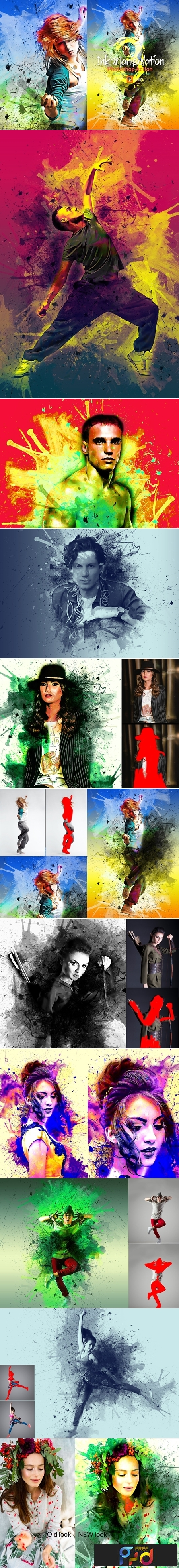 Ink Manipulation Photoshop Action 3 3565533 1