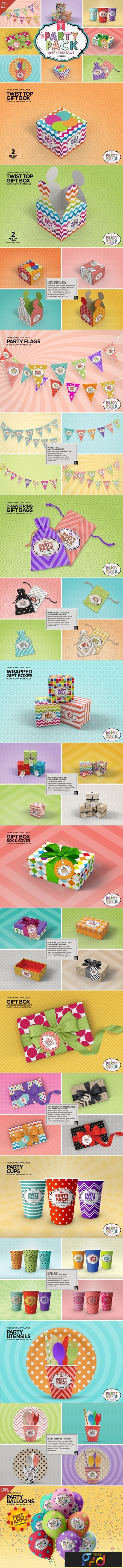 Vol.5 Party Packaging MockUps 3733897 1