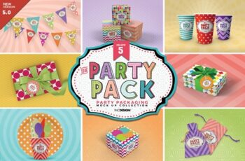 Vol.5 Party Packaging MockUps 3733897 6