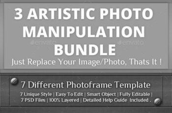 3 Photo Template Bundle V2 23499976 8