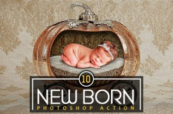10 New Born Photoshop Action 3553144 4