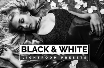 Black and White Lightroom Presets 3553632 2