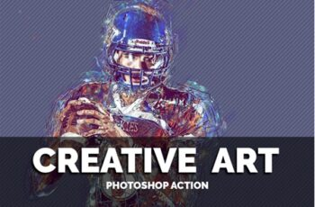 Creative Art Photoshop Action 3553111 5